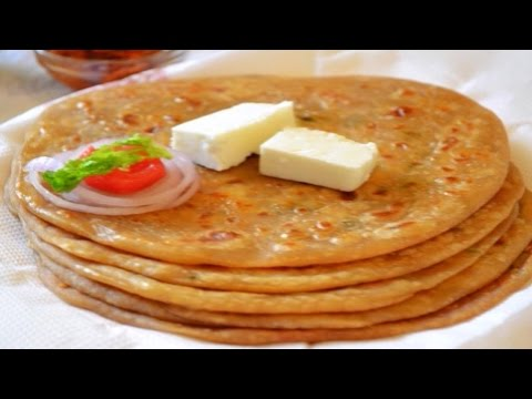 Aloo Paratha - No Stuffing Easy Recipe!