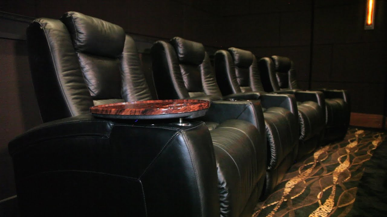 Home Theater of the Month: The Barber Theater - YouTube