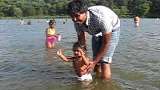 Gambar cover Bhavana playing  in lake 2!!!!