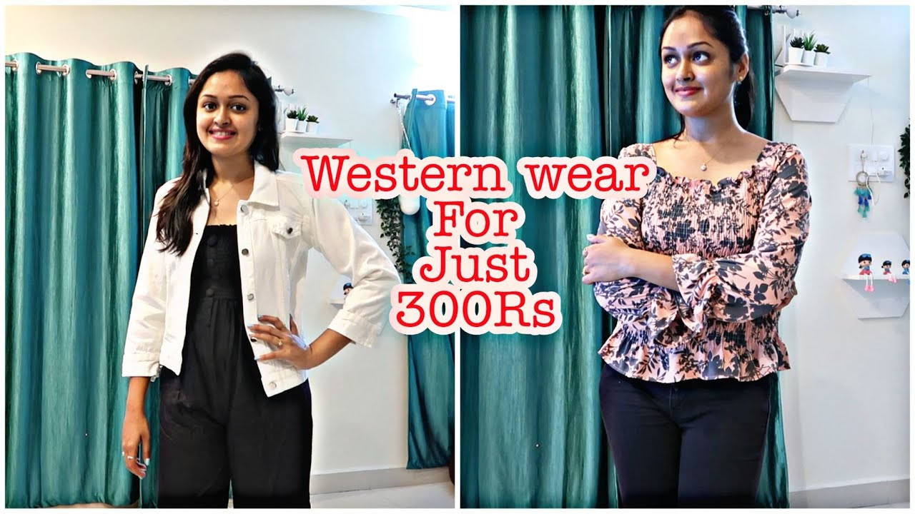 Western Wear Tops For Just 300 Rs || Tops, Jumpsuit, Jackets