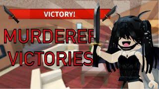 MURDERER WINS MM2 (MONTAGE)