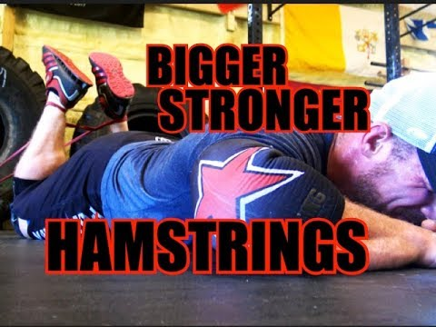 Grow BIGGER, STRONGER Hamstrings!