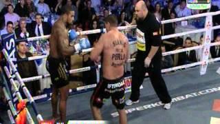 James Wilson (USA) vs Ionut Iftimoaie (Romania) - Superkombat Final elimination 10.11.2012 - Round 3