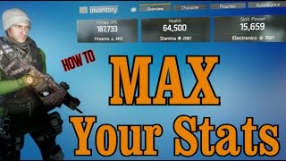 The Division: How to Max Out DPS, Health & Stamina. Get the MOST out of any Gear Score.(Nation! Whats up Yall?! Ever wonder how other Agents get 200K DPS and 100K Health? Its not that hard and you can get there also. Check out what to do, and ..., 2016-04-20T17:12:03.000Z)