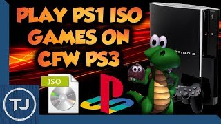 How To Play PS1 ISO Games On Jailbroken PS3! (Simple Tutorial)