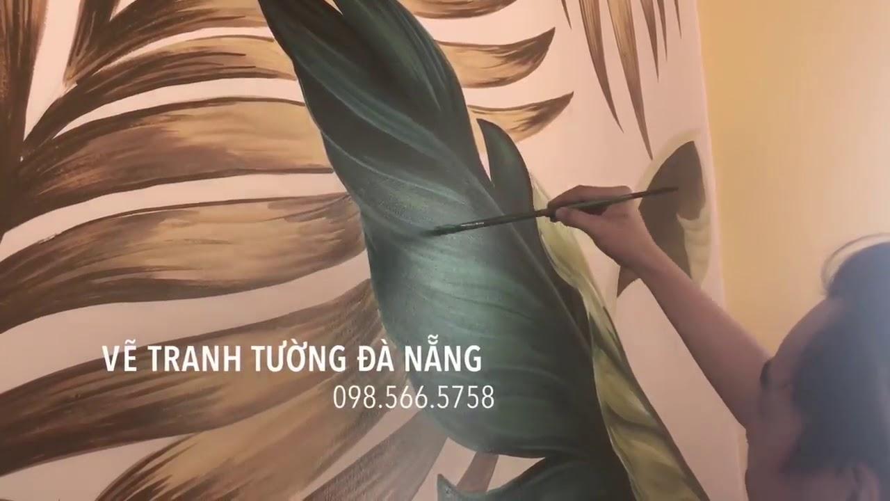 Thi công La Maison Deli Hội An | Vẽ tranh tường Đà Nẵng 098.566.5758