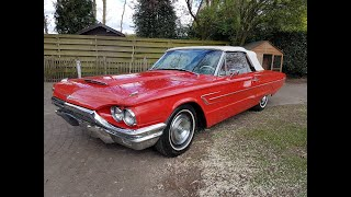 Driving the 1965 Ford Thunderbird Convertible