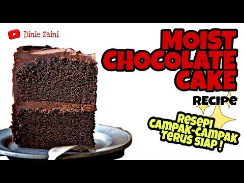 resepi-kek-coklat-lembab-,-mudah,-berhasil-pakai-blender-!-moist-chocolate-cake-recipe-using-blender