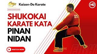 Shukokai Karate Kata - Pinan Nidan