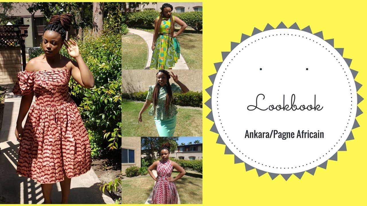 Lookbook: Ankara Styles/African Fashion/Le Pagne Africain - YouTube