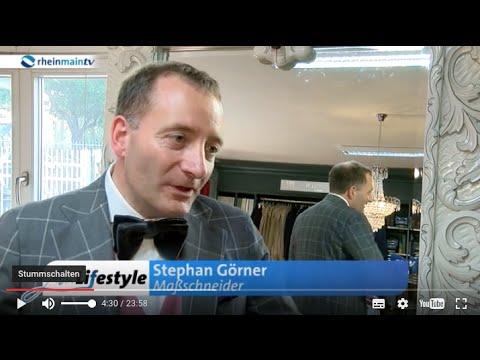 Maßanzug Frankfurt: Main Lifestyle (rheinmaintv) Andy Ost & Stephan Görner