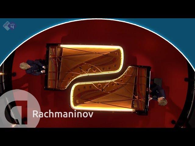 Rachmaninov: 'Romance' uit Suite voor 2 piano's - Lucas en Arthur Jussen - Prinsengrachtconcert 2018