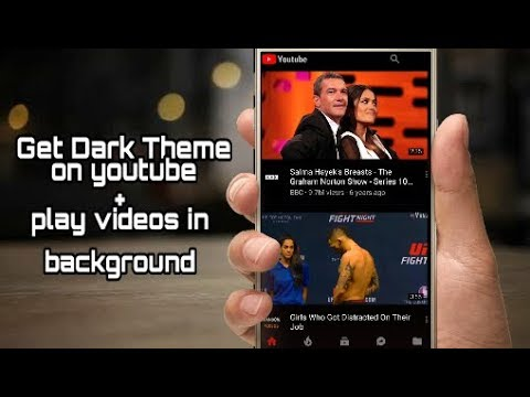 does youtube app have night mode
