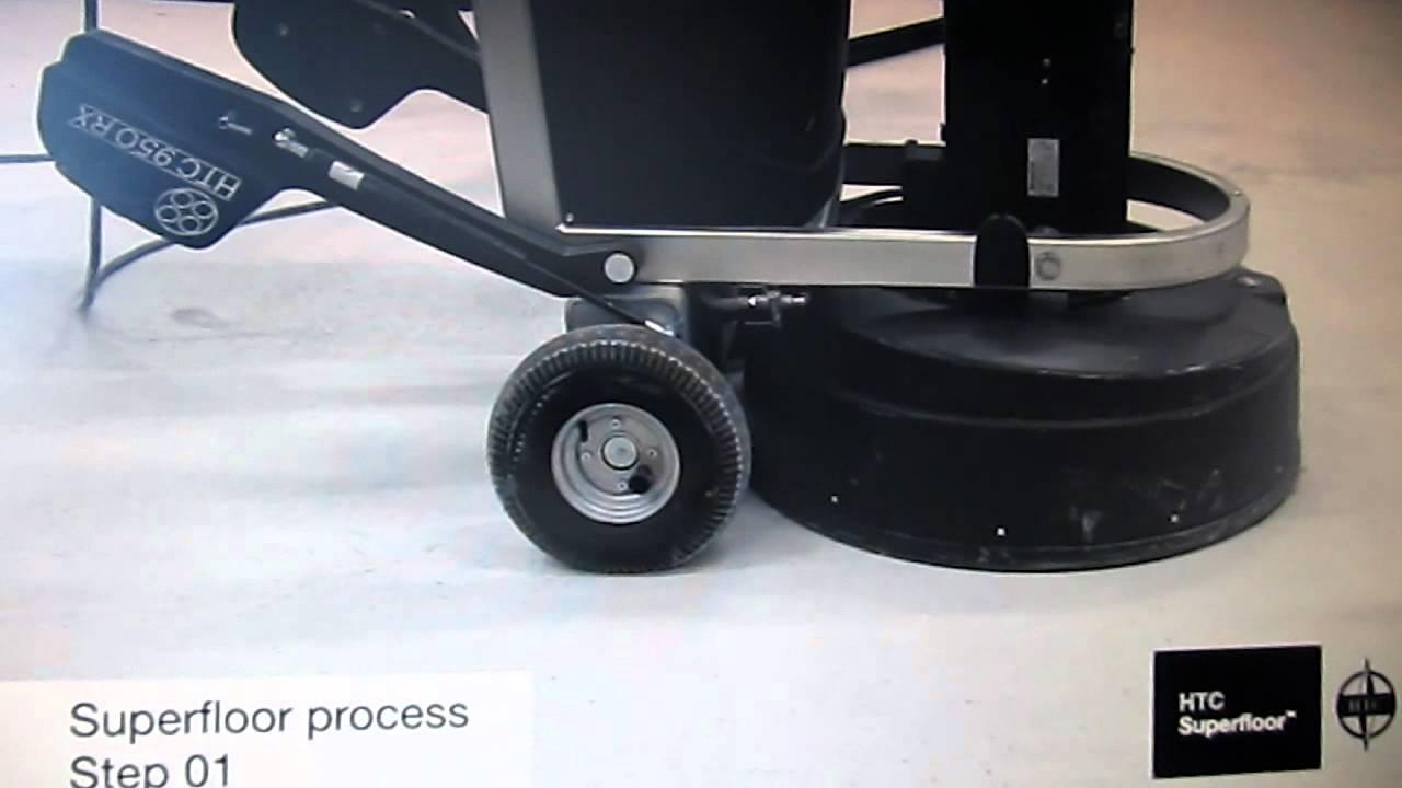 Forbeton avec forbeton est beton poli, polissage beton : superfloor htc - youtube