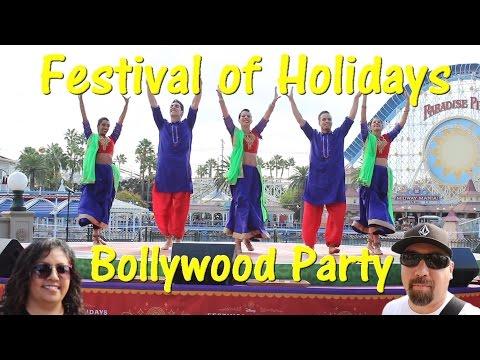 Festival of Holidays Bollywood Party DCA Blue13 Dance Company Disneyland Resort