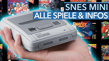 SNES Mini - Alle Spiele & Infos zum Nintendo Classic Mini Super NES