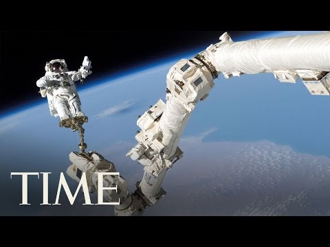 NASA Astronauts Take 2nd Spacewalk At The International Spac