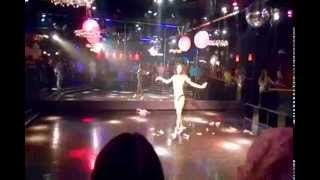Jolina Jasmine performs a Beyonce medley at the Den in Somerset, NJ