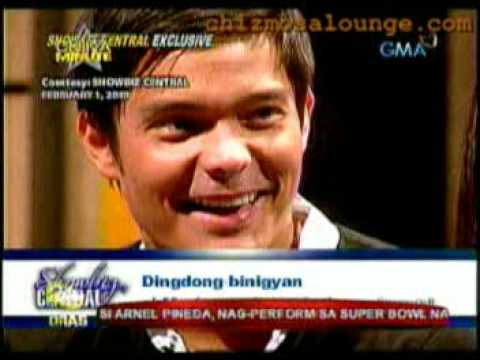 Marian Rivera and Ding Dong Dantes on showbiz central