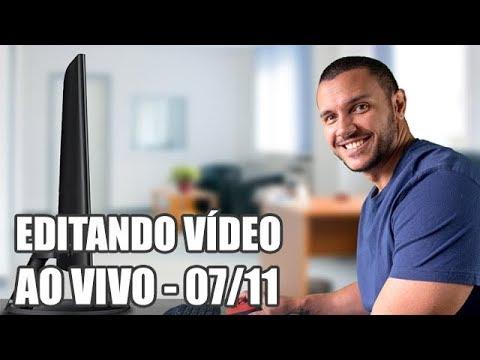 🔴 Editando Vídeo Ao Vivo - Passo a passo Adobe Premiere (Tempos na descrição)