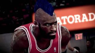 NBA 2K12 PC My Player - [Bulls 6th game] Short Intro
