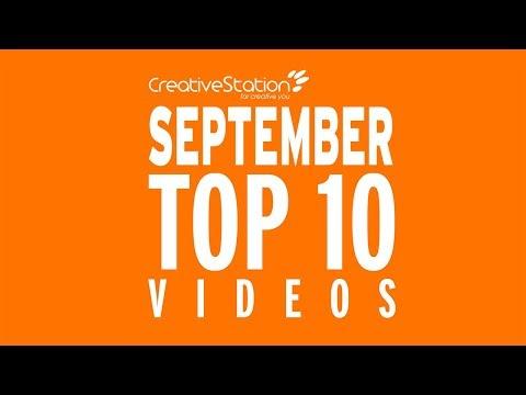 CreativeStation September 2017 Top 10 Video Arts