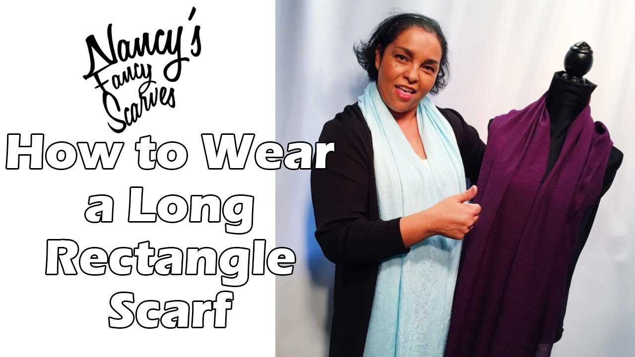 Fashion week How to oblong wear silk scarf for woman