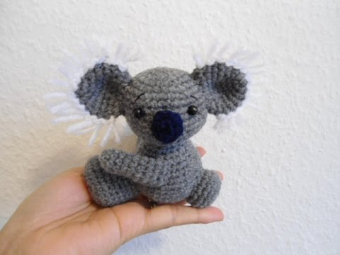 Crochet tutorial /koalabär - YouTube