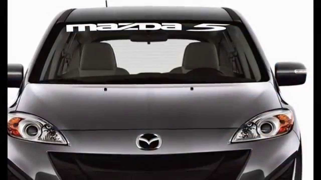 Windshield Decals To Show Off Your Car Or Truck YouTube - Windshield decals for trucks