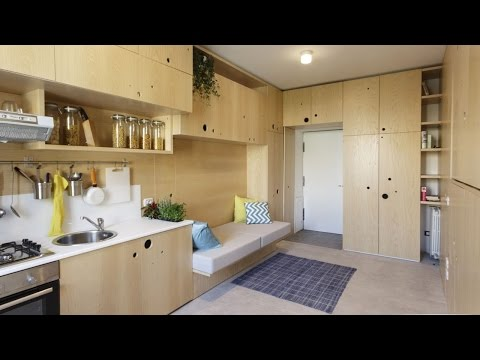 7 Amazingly-Tiny Micro-Apartments