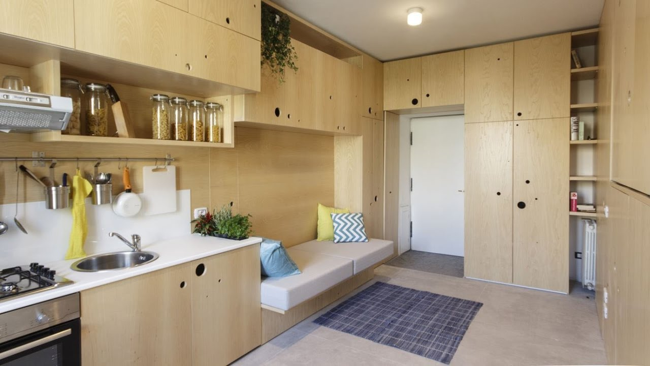 7 Amazingly Tiny Micro Apartments