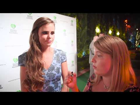 Tiffany Alvord Interview at Christina Grimmie Foundation's Inaugural Event
