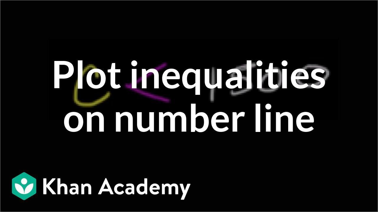 Plotting inequalities (video) | Khan Academy