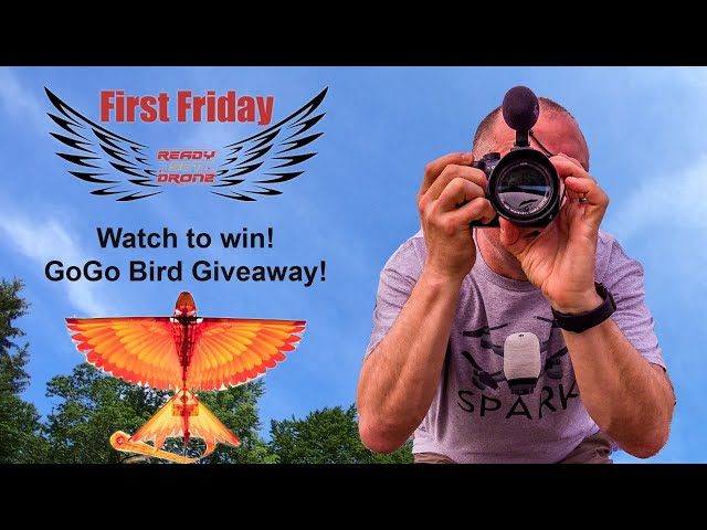 First Friday - Drone Live Stream & Giveaways!