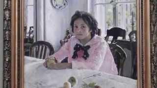 Девочка с персиками, Серов - анализ картины