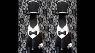 Свадебное шампанское.  Цилиндр для жениха