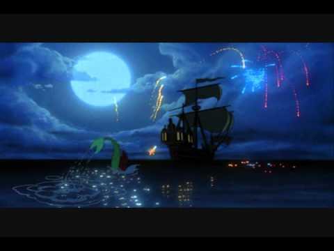 The Little Mermaid: Splash Hits - 11. The Edge of The Edge of The Sea (Lyrics on Screen)