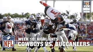 Cowboys vs. Buccaneers | Week 10 Highlights | NFL