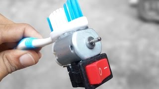 How to Make an Electric Toothbrush - SIMPLE