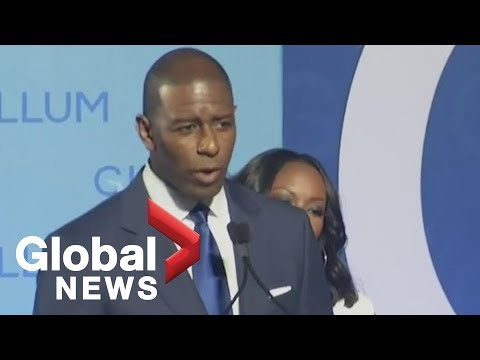 Midterm Elections: Andrew Gillum concedes Florida governor's race