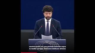 Intervento durante la Plenaria del Parlamento europeo di Brando Benifei, capo delegazione Pd, su Fondo sociale europeo plus 2021-2027.