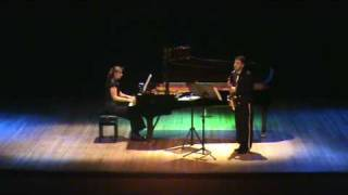 Saxophone and Piano   Amy Quate
