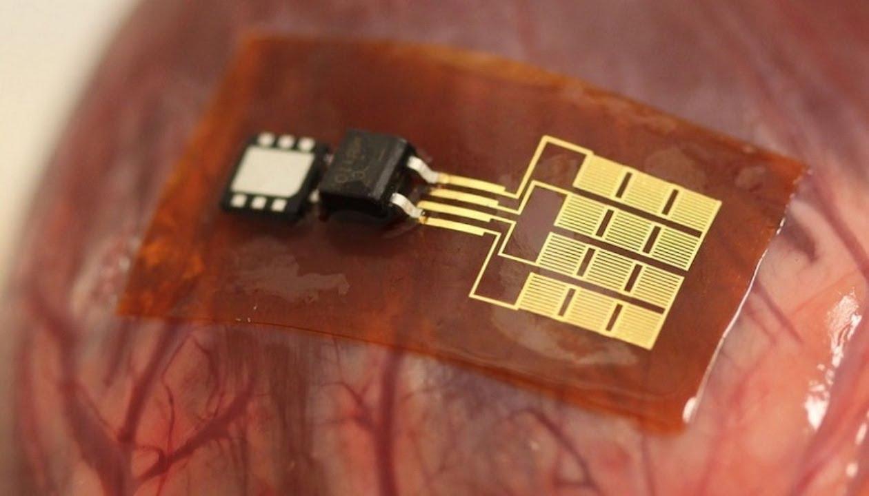 El chip que convierte latido del corazón en energía
