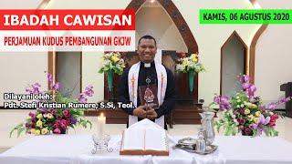 IBADAH (CAWISAN) PERSIAPAN PERJAMUAN KUDUS PEMBANGUNAN | 06 AGUSTUS 2020 | GKJW JEMAAT TANJUNG PERAK