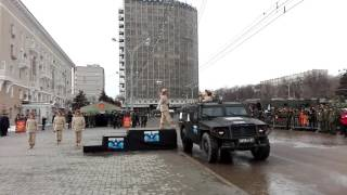 Ростов принял эстафету огня III зимних Всемирных военных игр