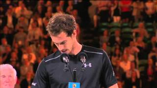 Andy Murray shares emotional message to pregnant wife