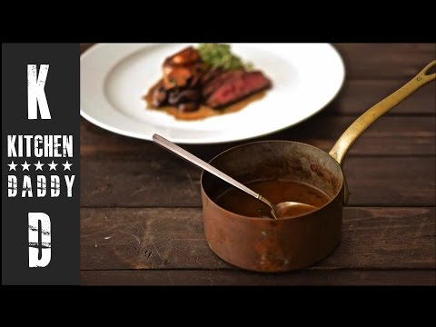 Red Wine Sauce | Kitchen Daddy