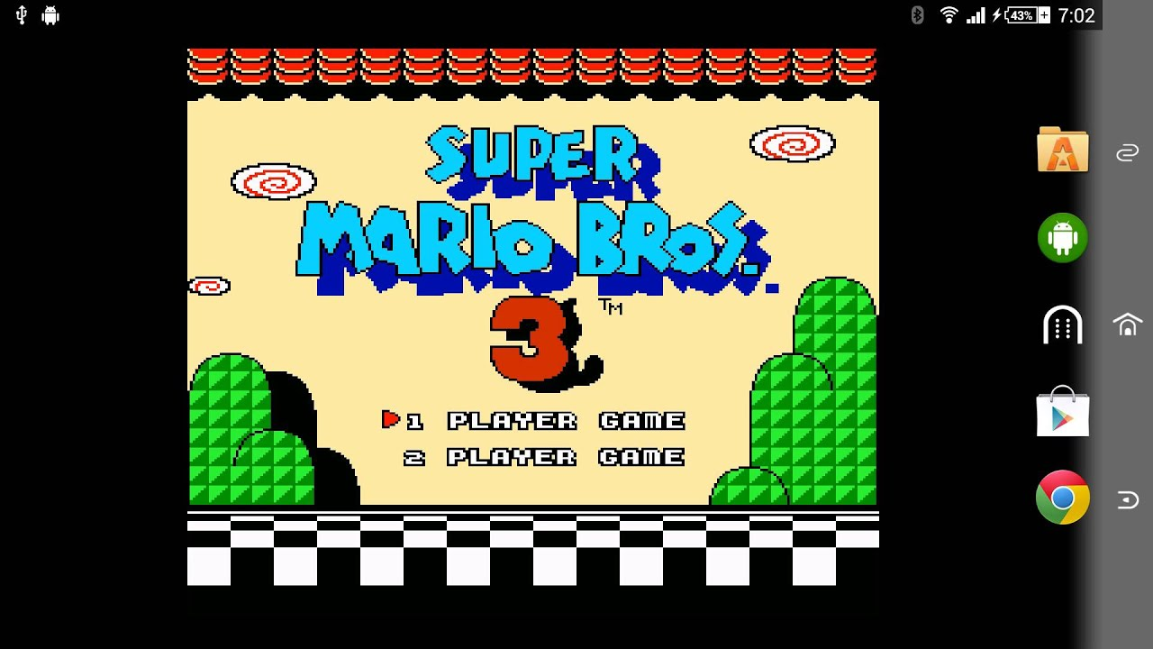 Super Mario Bros 3 Android Wallpaper