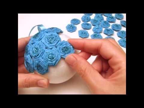Как сделать украшение цветочные шары смотреть в хорошем качестве