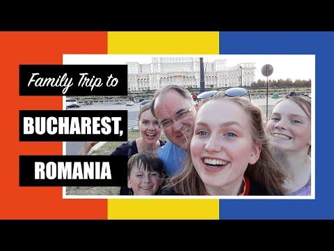 Family Trip to Bucharest, Romania